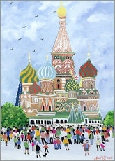 Gallery print  St. Basil's Cathedral, Red Square, 1995 - Judy Joel