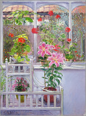 Gallery Print  In the winter garden - Timothy Easton