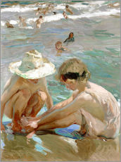 Gallery print  The wounded foot - Joaquin Sorolla y Bastida