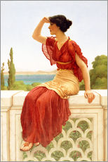 Gallery print  The Signal - John William Godward