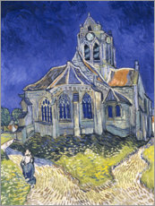 Canvas print  The Church at Auvers-sur-Oise - Vincent van Gogh