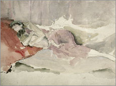 Gallery print  Mother and child on a sofa - James Abbott McNeill Whistler