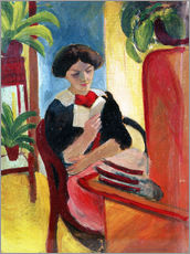 Wall sticker  Elizabeth Reading - August Macke