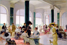 Gallery Print  Afternoon tea - Rene Lelong