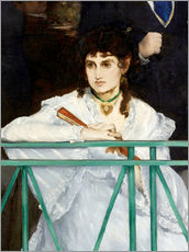 Gallery print  The Balcony (Detail) - Edouard Manet
