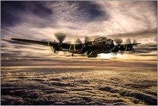 Wall sticker  Dambuster Lancaster - Paul Heasman