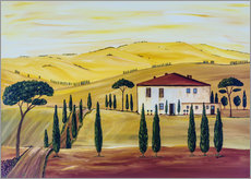Gallery print  Southern Tuscany - Christine Huwer