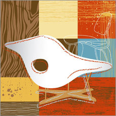 Wall sticker  la chaise 01 - Thomas Marutschke