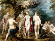 Wall sticker The judgment of paris