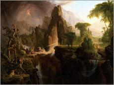 Wall sticker  Expulsion from the Garden of Eden - Thomas Cole
