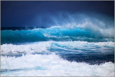 Gallery print  Waves off Hawaii, Oahu - Tomas del Amo