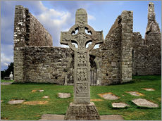 Gallery print  Clonmacnoise in Ireland - The Irish Image Collection
