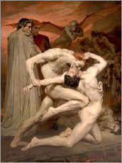Gallery Print  Dante and Virgile - William Adolphe Bouguereau