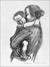Wall Stickers  Mother and Child - Käthe Kollwitz