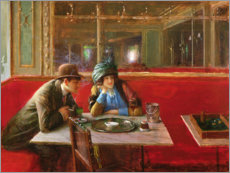 Gallery print  At the Cafe - Jean Beraud