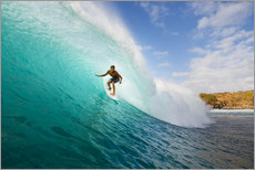 Wall sticker  Surfer in Hawaii - MakenaStockMedia