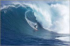 Wall sticker  Giant wave off Maui - Ron Dahlquist