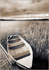 Gallery print  Boat on Lake Burntstick - Darwin Wiggett
