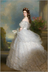 Wall sticker  Empress Elisabeth of Austria - Franz Xaver Winterhalter
