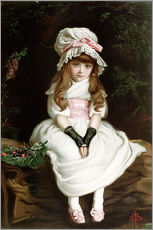 Gallery print  Cherry Ripe - Sir John Everett Millais