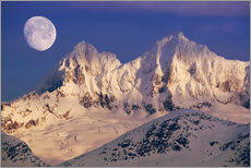 Wall sticker  Moon over the Tongass National Forest - John Hyde