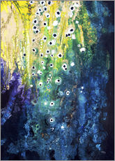 Gallery print  Flowers and waterfall after Klimt - Tara Thelen