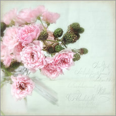 Wall sticker  roses&berries N°2 - Lizzy Pe