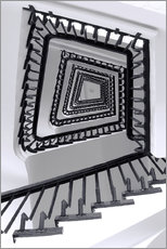 Gallery print  STAIRCASE I - Sabine Wagner