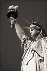 Gallery print  statue of Liberty - Richard Cummins