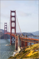 Wall sticker  Golden Gate Bridge in San Francisco - Leah Bignell