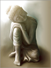 Wall sticker  Buddha - Christine Ganz