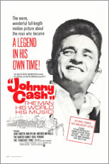 Premium poster  Johnny Cash! The Man, His World, His Music - Entertainment Collection