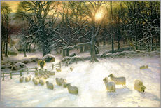 Wall sticker  The Shortening Winter's Day is Near a Close - Joseph Farquharson