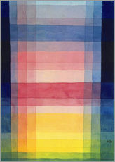 Wall sticker  Architecture of the plain - Paul Klee