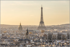 Gallery print  Paris in the evening light - Matteo Colombo