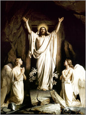 Gallery print  The resurrection - Carl Bloch