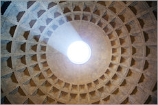 Gallery print  Ceiling of the Pantheon temple, Rome - Matteo Colombo