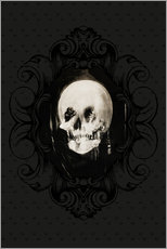 Wall Stickers  All is vanity (Baroque Frame) - Charles Allan Gilbert