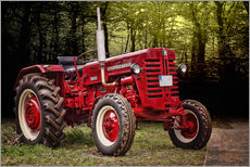 Wall sticker  McCormick tractor Oldtimer - Peter Roder