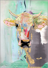 Gallery print  Cow collage - GreenNest