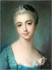 Gallery print  Young woman - François Boucher