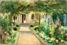 Gallery print  View from the Kitchen Garden - Max Liebermann