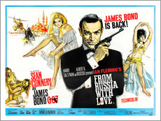 Wall sticker  From Russia with Love - Entertainment Collection