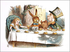 Gallery print  Alice in Wonderland - John Tenniel