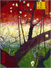 Premium poster  Plum tree in bloom (after Hiroshige) - Vincent van Gogh
