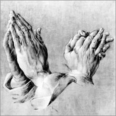 Wall sticker  Hands of the Pope and an apostle - Albrecht Dürer