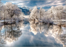 Gallery print  Winter Magic  - Bavaria - Germany - Achim Thomae