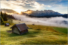 Wall sticker  Upper Bavrian Sunrise - Achim Thomae