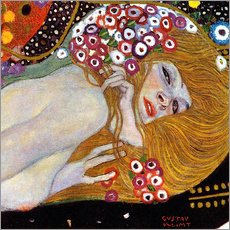 Gallery print  Water Serpents II (detail) - Gustav Klimt