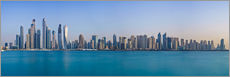 Gallery Print  Dubai Marina Skyline - United Arab Emirates - Achim Thomae